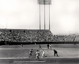 A Giants game at Candlestick in 1965.