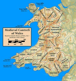 Medieval Cantrefi of Wales