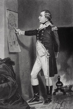 Major general Richard Montgomery, namesake of Montgomery County
