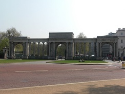 Decimus Burton's Hyde Park Gate/Screen