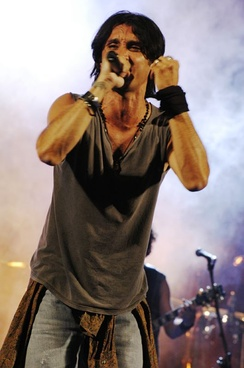 "Fabrizio Moro placed first in the Newcomers' section with the song ""Pensa""."