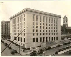 Old federal courthouse in Portland, Oregon