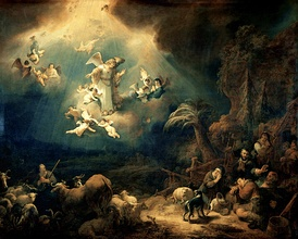 The Angel Appearing to the Shepherds, Govert Flinck, 1639