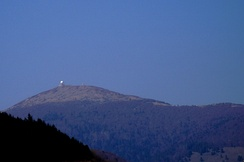 The Grand Ballon, southern face, seen from the valley of the Thur