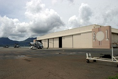 During the 1941 Attack on Pearl Harbor, portions of Hangar 1 were destroyed. In 1987, the hangar and five sea plane ramps were designated a National Historic Landmark.
