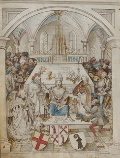 Inauguration ceremony of the University of Basel, 1460