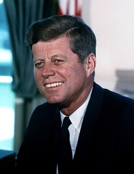 John F. Kennedy, 35th President of the United States (1961–1963)