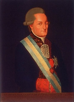 Juan Vicente de Güemes Padilla Horcasitas y Aguayo, 2nd Count of Revillagigedo, Viceroy of New Spain (1789-1794)