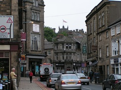 King Street with the castle in the background