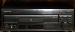 A Pioneer CLD-2950 CD/CDV/LD player