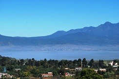View of Lake Patzcuaro from Tzintzuntzan