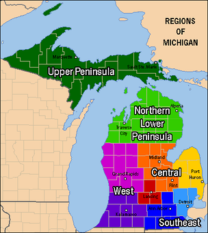 Michigan's regions