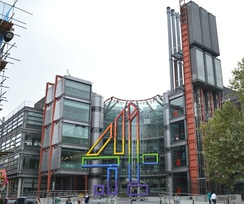 Channel 4 headquarters, 124 Horseferry Road, London
