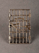 "Amelia Himes Walker's ""Jailed for Freedom"" Pin, 1917"
