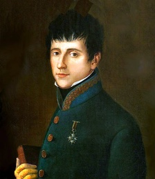 Rafael del Riego (1784-1823), the leader of the Cortes Generales, which sought to restore the 1812 constitution.