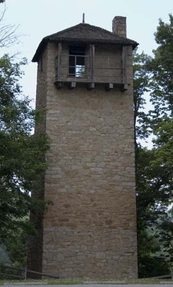 Shot Tower, Max Meadows