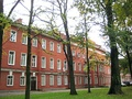 Barracks of the former Moscow Regiment (previously I Lithuanian Regiment) of the Imperial Guards (61, B.Sampsonievsky pr.). 1833-1836. Now buildings of Military Academy of Physical Education.