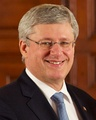Stephen Harper, 22nd Prime Minister of Canada.