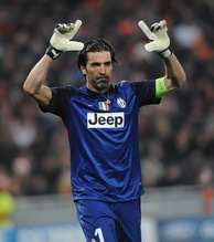 Star goalkeeeper Gianluigi Buffon was among a group of players who remained with the club following their demotion to Serie B in 2006.