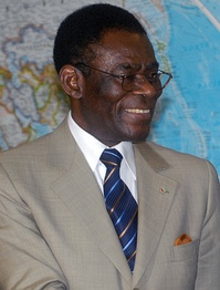 "According to the BBC, President Obiang Nguema ""has been described by rights organisations as one of Africa's most brutal dictators.""[73]"