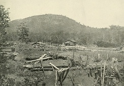 Union Trenches at Kennesaw Mountain, 1864
