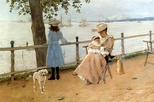 Afternoon by the Sea (Gravesend Bay), c. 1888