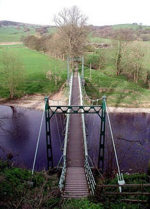 West Hall Suspension Bridge, Addingham - geograph.org.uk - 425417.jpg