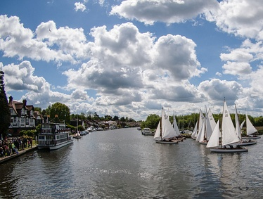 Start of the 2015 Three Rivers Race
