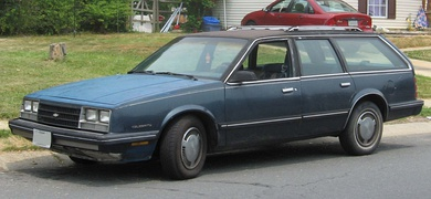1984-1985 Celebrity station wagon