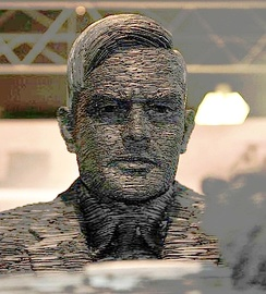 Stephen Kettle's 2007 Alan Turing statue