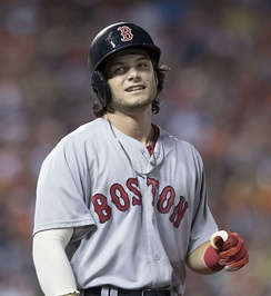 Andrew Benintendi had two doubles, scored twice, and made a game-ending diving catch in Game 4.