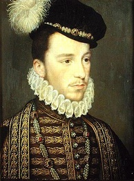 Henry, Duke of Anjou, by Jean de Court, c. 1573. As Henry III, he often showed more interest in pious devotions than in government.