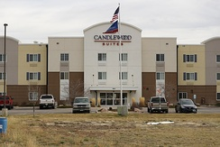 A Candlewood Suites in Gillette, Wyoming