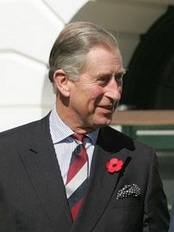 Charles, Prince of Wales, the current heir to the throne of the Bahamas