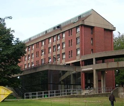 Mary Ogilvie House (now demolished), student accommodation on the main campus