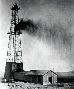 Dammam No. 7, the first commercial oil well in Saudi Arabia, struck oil on 4 March 1938.