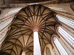"Church of the Jacobins ""palm tree"" vault (13th c.)"