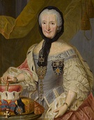 Countess Palatine Francisca Christina of Sulzbach died 16 July