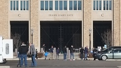 Gate at Notre Dame Stadium named for Leahy