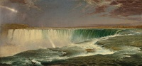 Niagara,1857, Frederic Edwin Church, National Gallery of Art, Washington, DC.