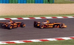 The Arrows team deliberately failed to qualify for the 2002 French Grand Prix due to financial problems.