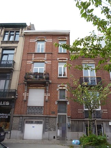 The house in Etterbeek where Hergé was born