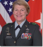 Ann Dunwoody, the first female four-star general in the United States military (shown while two-star general).