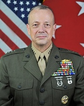 General John R. Allen spoke on the fourth  night