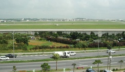 View of Kadena Air Base