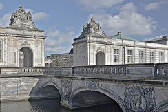 The Marble Bridge and the pavilions