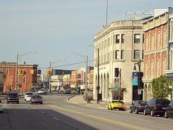 Military Road Historic District in Port Huron
