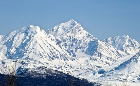 Mount Marcus Baker is the highest summit of the Chugach Mountains of Alaska.