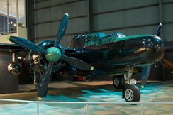 P-61C (AAF Ser. No. 43-8353) Moonlight Serenade at the National Museum of the United States Air Force