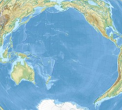 Auckland is located in Pacific Ocean